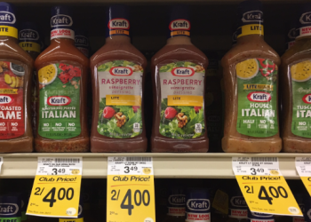 NEW Kraft Coupon – Only $1.50 for Salad Dressing