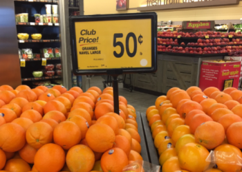 Large Navel Oranges For Just $0.50 a Pound