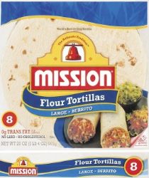NEW Mission Coupon and Sale, Only $0.99 for Large Burrito Flour Tortillas