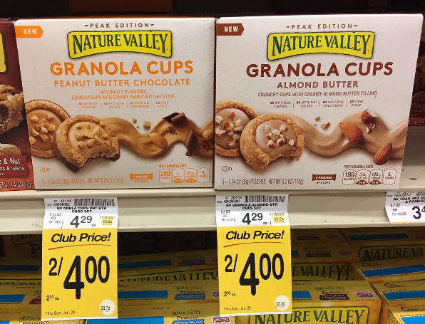 Try NEW Nature Valley Granola Cups for $1.50 - Save 65%