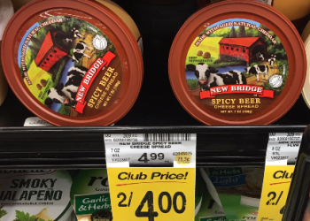 New Bridge Cheese Spread, Save 60% – Pay $2.00