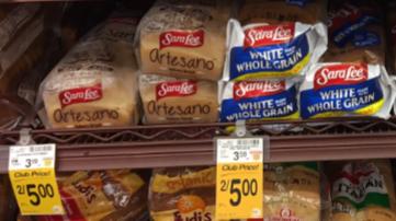 Sara Lee Artesano Bread - Super Safeway