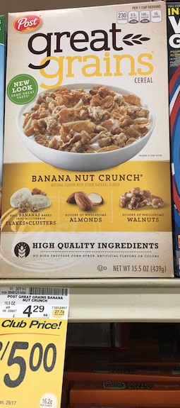 post great grains cereal coupon