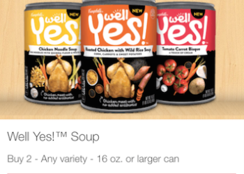 New ibotta rebate for Campbell's Well Yes Soups – Pay just $.17 with Coupon Stack