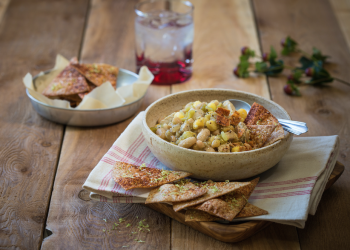 Hearty White Chili With Diced Pork