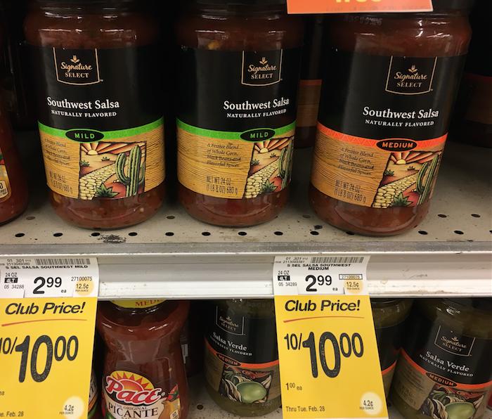 Signature select salsa