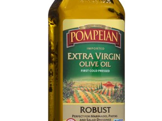 Pompeian Olive Oil Coupon, Pay $3.99 – Save 60%