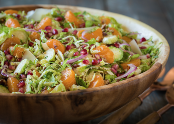 Clementine Brussels Sprouts Salad