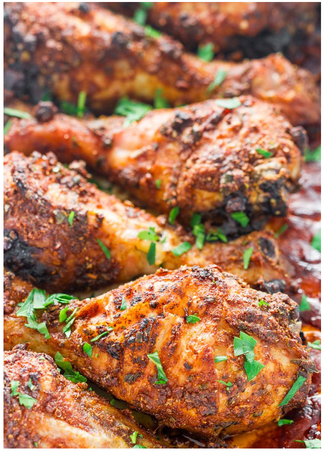garlic and paprika chicken drumsticks