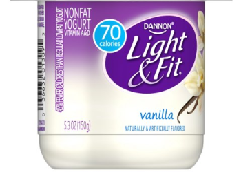 Pay Only $.13 for Dannon Light & Fit Yogurt With Sale and Coupon – Save Up to 84%