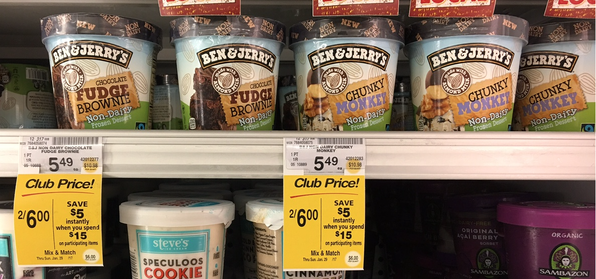 Ben and jerry's ice cream coupons