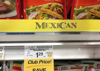 New McCormick Seasoning Sale and Coupon – Get Taco Seasoning for Just $.55