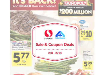 Albertsons and Safeway Sale and Coupon Deals 2/8 – 2/14