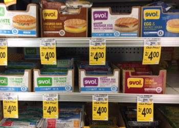 Three GREAT Evol Deals – Pay as Low as $0.25