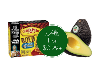 Combo Rebate - Pay as Low as $0.17 For Avocados And $1.65 For Taco Shells