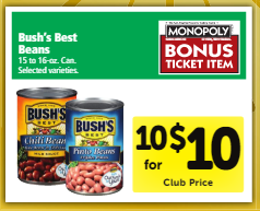 FREE Bush's Best Beans at Safeway