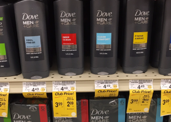 NEW Dove Coupon, Pay as Low as $1.74 for Men+Care Body Wash
