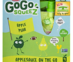 GoGo Squeez Applesauce Coupon – Pay as Low as $1.00