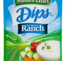 Hidden Valley Dip Coupon – Only a Quarter