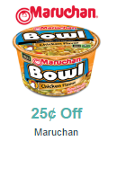 FREE Maruchan Bowl After Coupon
