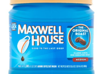 NEW Maxwell House Coupon, Pay $3.99, Save $6.00 - 60%