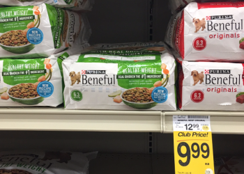 Save $6 on Purina Beneful Dog Food, Only Pay $6.99