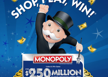 Safeway Monopoly Game 2018 – Win $250 Million in Cash and Prizes 2/7 – 5/9