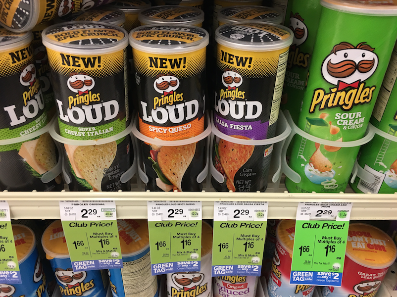 Pringles Chips Just $ 82 With Coupon - Even Lower Than