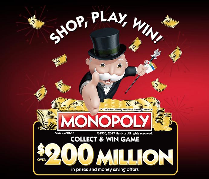 Safeway Monopoly Game