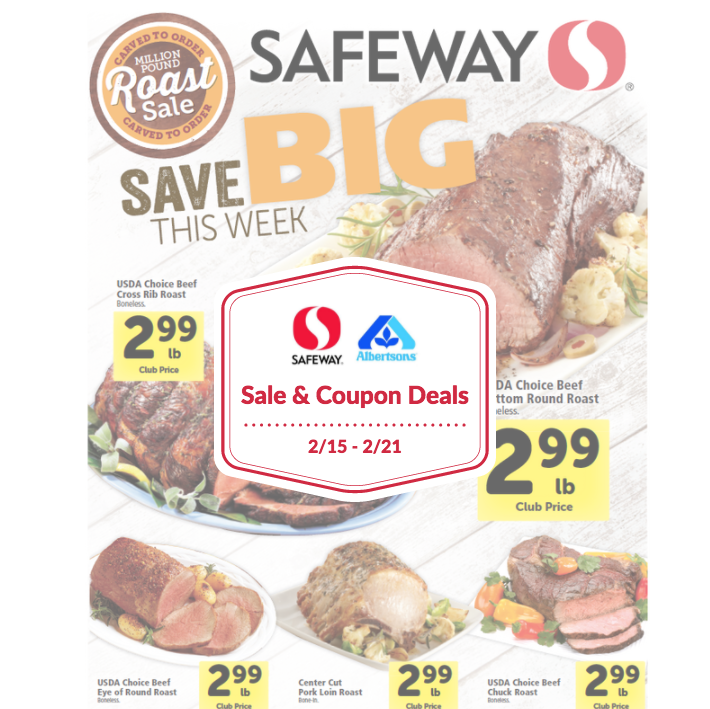 safeway sale and coupon deals
