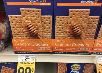 HOT! Signature Kitchens Graham Crackers Just $.99