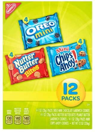 nabisco multipacks