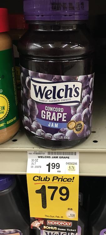 welch's jam