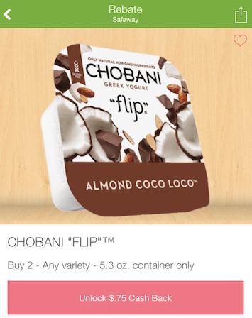 Chobani Flip Yogurt Coupons and Sale - Pay just $.67 each ...