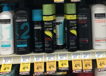 Tresemme buy one get one free