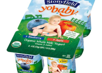 Stonyfield Organic Yogurt Quart and 6 packs Just $2.00 with Coupons at Safeway, Save 55%