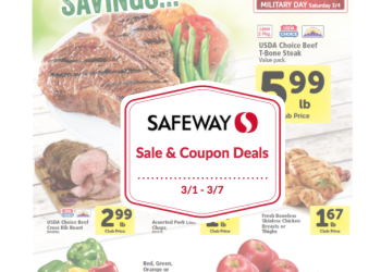 Safeway Sale and Coupon Deals March 1st – 7th