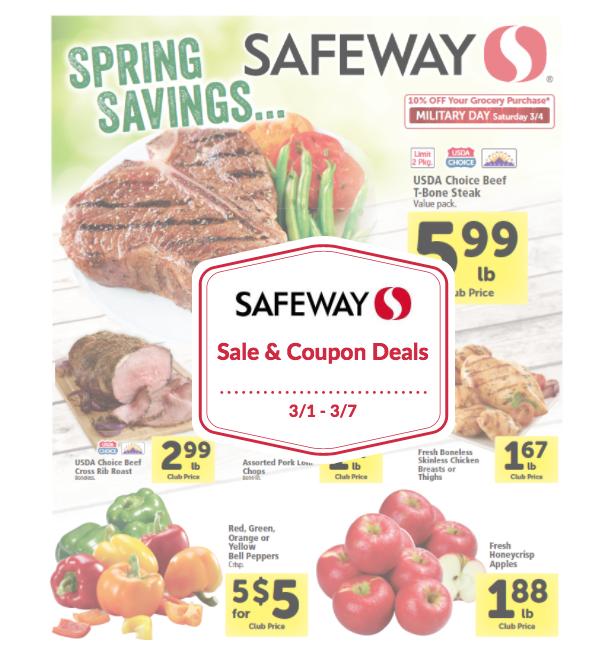 safeway coupon matchup