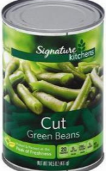Signature Kitchens Vegetables, Only $0.50