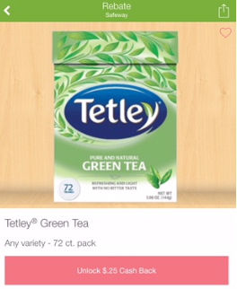 Tetley Tea Deal - Pay as Low as $0.74