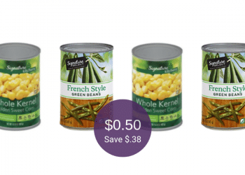 Signature SELECT or Signature Kitchens Vegetables, Only $0.50 at Safeway