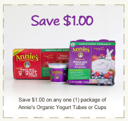 Annie's Yogurt coupon