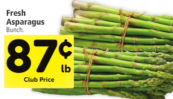 Asparagus Sale at Safeway, Only $0.87 a Pound