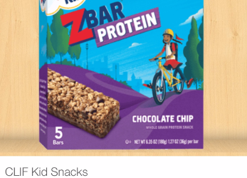 CLIF Kid Z Bar Coupon – Pay $2.99 for Organic ZBars