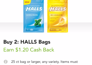Halls Coupon Deal – as Low as $0.79