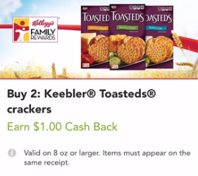 Keebler Cookies and Crackers Sale, Pay as Low as $1.38