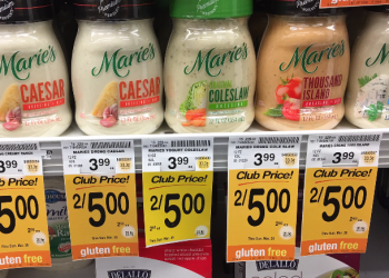 Marie's Dressing Coupon – Pay $1.50