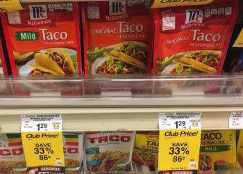 McCormick Seasoning Mix Deals – Pay as Low as $0.61 After a NEW Coupon