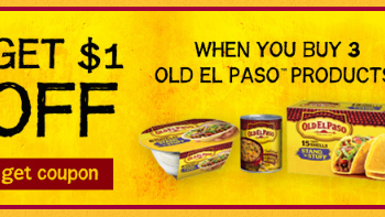 Old El Paso Coupon and Sales – Pay as Low as $0.40