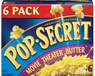 Pop Secret Coupon – 6 Pack for $2.50